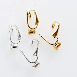 Lot de 4 clips pour boucles d'oreilles