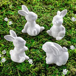 Lot de 4 lapins