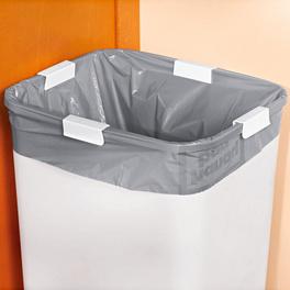 Lot de 4 pinces pour sacs-poubelle