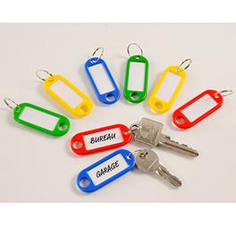Lot de 8 porte-clefs 1+1