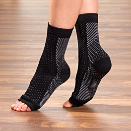 Manchon anti-fatigue pour pied