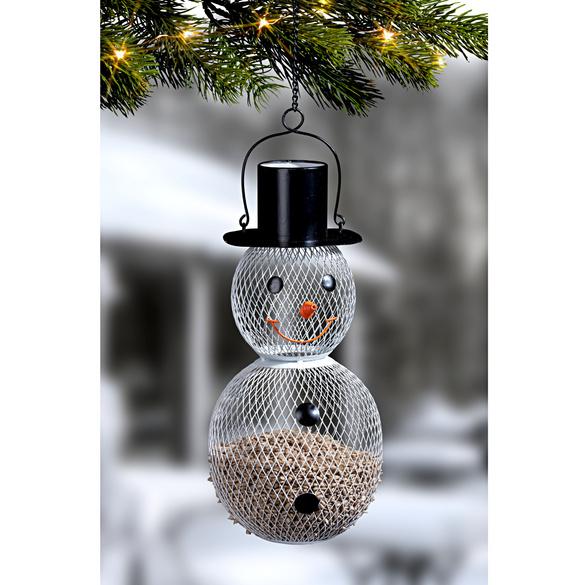 Mangeoire à oiseaux Bonhomme de neige