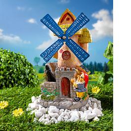 Moulin à vent solaire avec nain