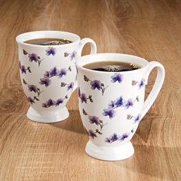 Mug à café Orchidée