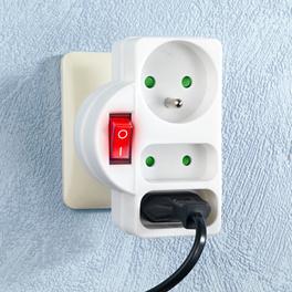Multiprise avec interrupteur