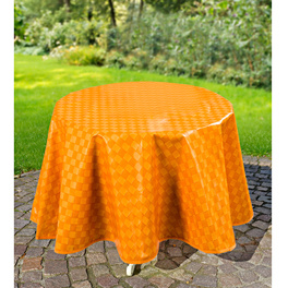 Nappe Carreaux 110x140 cm, orange