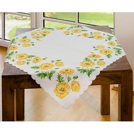 Nappe à fleurs , 85 x 85 cm