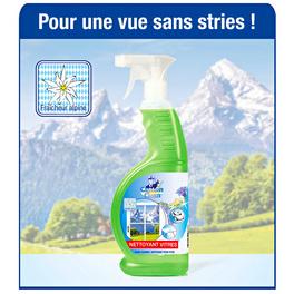 Nettoyant vitres, fraîcheur alpine 2x650 ml