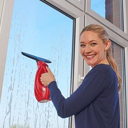 Nettoyeur de vitres, rouge