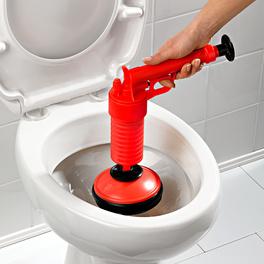 Nettoyeur tuyaux Drain Buster, rouge