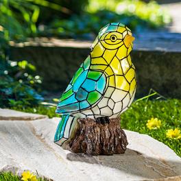 Oiseau solaire style Tiffany