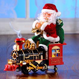 Père Noël Conducteur de train