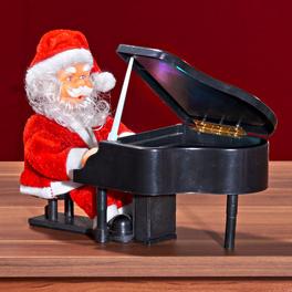 Père Noël au piano