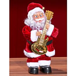 Père Noël avec guitare
