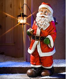 Père Noël avec lanterne