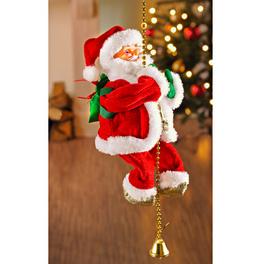 Père Noël grimpant