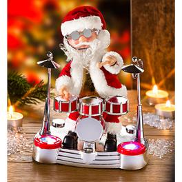 Père Noël rockeur