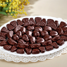 Pâtes de fruits enrobées de chocolat