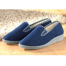 Pantoufles, bleu marine