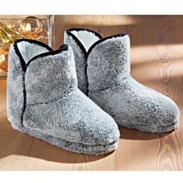 Pantoufles, gris