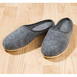 Pantoufles homme, gris foncé