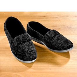 Pantoufles, noir