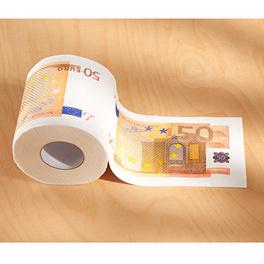 Papier toilette 50€