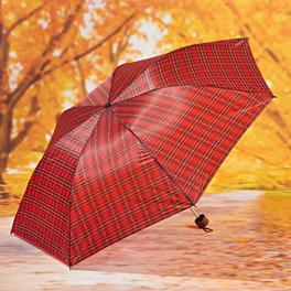 Parapluie pliant, carreaux