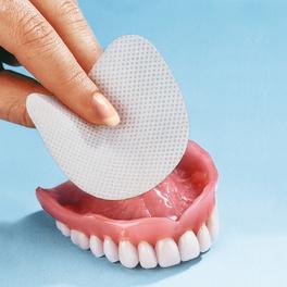 Patch pour dentier, mâchoire supérieure