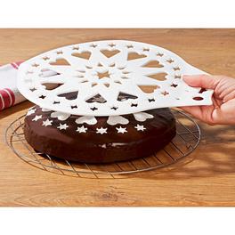 Pelle à gâteau/pochoir 2en1