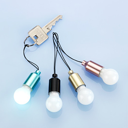 Pendentif de porte-clés ampoule