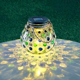 Photophore solaire de table