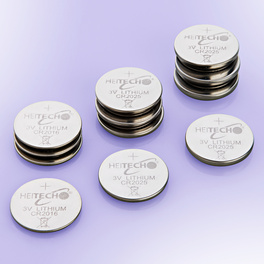 Piles bouton au lithium, lot de 12