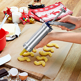 Pistolet de pâtisserie + 24accessoires