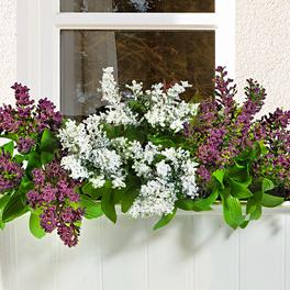 """Plante artificielle pour balcon """"Bruyère"""""""