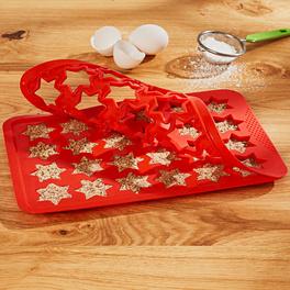 Plaque pour biscuits étoiles