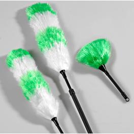 Plumeaux, vert lot de 3