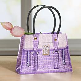 Pochette cadeau petit format, violet