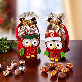 Pochettes cadeau Chouettes