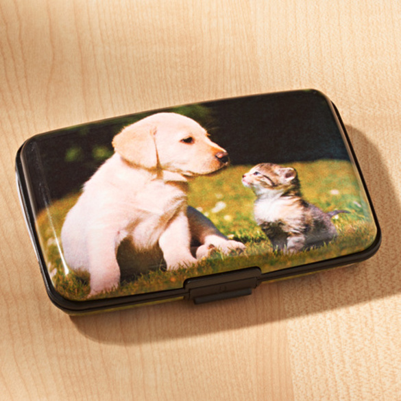 Porte-cartes Chat & Chien