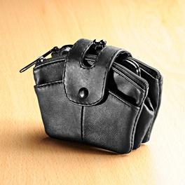 Porte-monnaie, noir