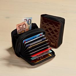 Porte-monnaie personnalisé, marron