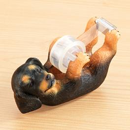 Porte-rouleau adhésif chien