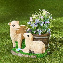 Pot de fleurs Famille Mouton