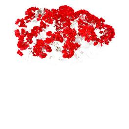 Pot de fleurs, bronze