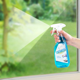 Produit nettoyant spécial vitres 500ml avec action anti-buée
