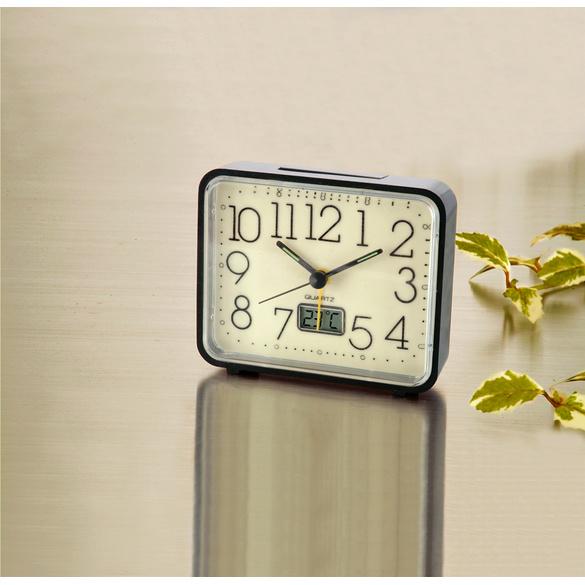 Réveil lumineux avec thermomètre