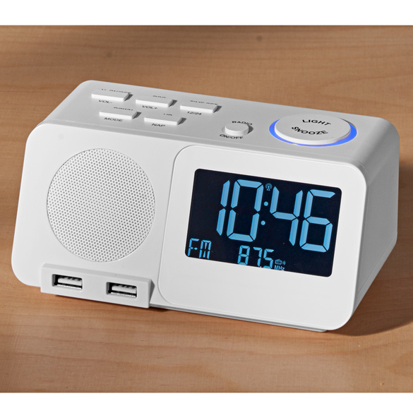 Radio-réveil digital