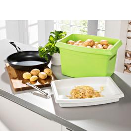 Rangement spécial pommes de terre, vert