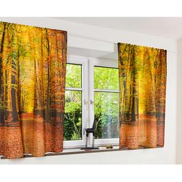 Rideau Journée d'automne, H 140cm